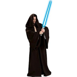 star wars jedi robe deluxe adult costume one size fits most adult unisex - Star Wars Jedi Robe Deluxe Adult Costume - One Size Fits Most, Adult Unisex, Brown