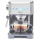 capresso ultima pro espresso cappuccino machine stainless steel 12401 silver 150x150 - Calphalon Premier Space Saving Nonstick 15 Piece Set