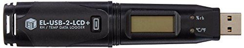 Lascar EL-USB-2-LCD+ High Accuracy Humidity Temperature and Dew Point Data Logger with LCD