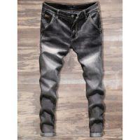Silver Jeans Co. Women's Plus Size Suki Curvy Fit Mid Rise Straight Leg, Vintage Dark Wash with Lurex Stitch, 14x30