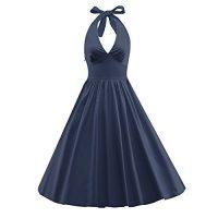 Women's Bell Sleeves Polka Dot Dress