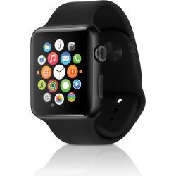 Apple Watch Series 2 w/ 42mm Space Black Stainless Steel Case & Sport Band – Black (Refurbished)