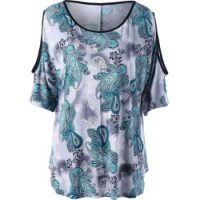 SIGNALS Women's Easy Fit Double Layer Garment Dyed Linen Tunic Top - 1X - White