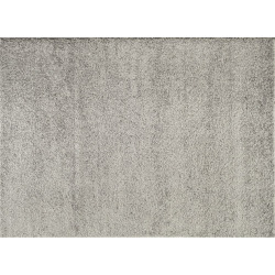 World Rug Gallery Florida Cozy Solid Shag Rug, Light Grey