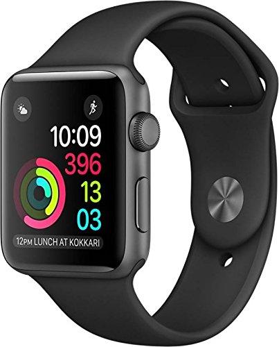 Apple Watch Series 1 42mm Smartwatch (Space Gray Aluminum Case/Black Sport Band)