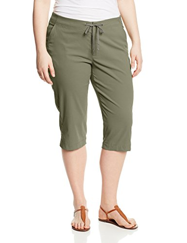 Columbia Women's Plus-size Anytime Outdoor Plus Size Capri Pants, cypress, 18Wx18