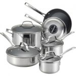 circulon genesis 10 pc nonstick stainless steel cookware set grey 150x150 - Brentwood 6-qt. Pressure Cooker, Multicolor