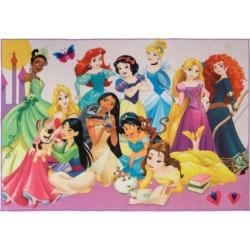 Disney's Princess Party Rug – 4'6 x 6'6, Multicolor