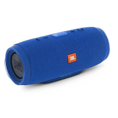 jbl charge 3 waterproof bluetooth speaker blue certified refurbished - JBL Charge 3 Waterproof Bluetooth Speaker -Blue (Certified Refurbished)
