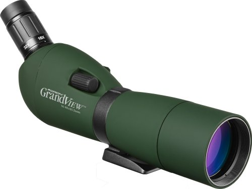 Orion 52205 GrandView 16-48x65mm Waterproof Zoom Spotting Scope (Green)