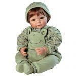 "adora toddler froggy fun boy 20 boy weighted doll gift set for children 6 150x150 - Adora Toddler Workout Chic 20"" Girl Weighted Doll Gift Set for Children 6+ Huggable Vinyl Cuddly Snuggle Soft Body Toy"