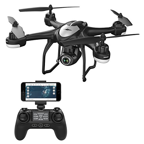 potensic t18 gps fpv rc drone with camera live video and gps return home - Potensic T18 GPS FPV RC Drone with Camera Live Video and GPS Return Home Quadcopter with Adjustable Wide-Angle 1080P HD WIFI Camera