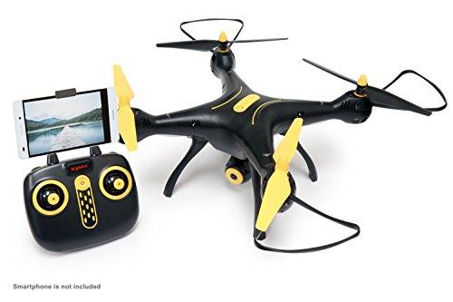 tenergy syma x8sw wi fi fpv quadcopter drone 720p hd camera altitude hold rc - Tenergy Syma X8SW Wi-Fi FPV Quadcopter Drone 720P HD Camera Altitude Hold RC 2.4G 4CH 6 Axis, Black/Yellow