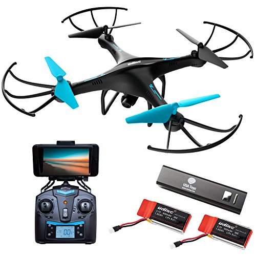 force1 drone camera live video cool wifi fpv quadcopter smartphone remote - Force1 Drone Camera Live Video - Cool WiFi FPV Quadcopter & Smartphone Remote Control - RC Robot Hover Toys Adults, Teens, Kids, Boys & Girls w/ Extra Battery Indoor Outdoor Games