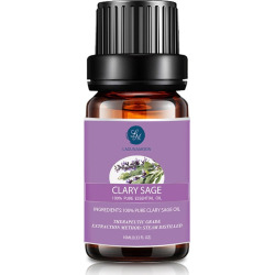 10ml Natural Clary Sage Aromatherapy Essential Oil