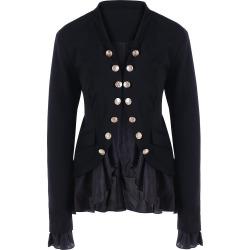 Chiffon Trimmed Jacket
