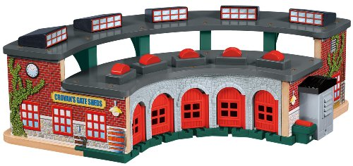 Thomas & Friends Fisher-Price Wooden Railway, Deluxe Roundhouse