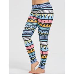 Plus Size Print Yoga Tights