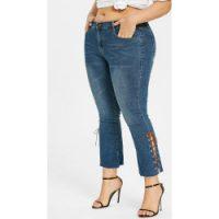 NYDJ Women's Plus Size Barbara Bootcut Jeans, Rinse, 18W