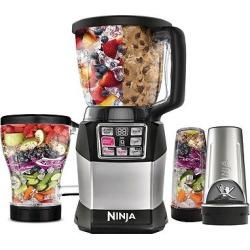 Nutri Ninja Auto-iQ Compact System Blender/Processor BL491, Black