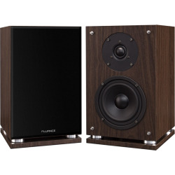SX6 High Definition Two-way Bookshelf Loudspeakers – Natural Walnut