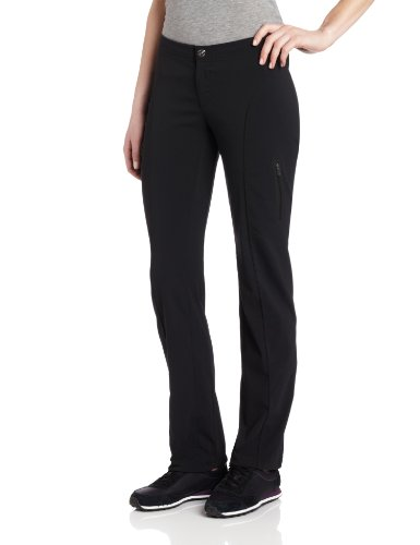 Columbia Women's Just Right Straight Leg Pant, Black, 8 Short