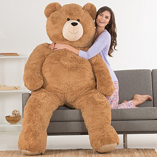 vermont teddy bear huge love bear 6 feet tall brown - Vermont Teddy Bear - Huge Love Bear, 6 Feet Tall, Brown