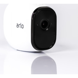 arlo pro by netgear add on security camera camera only no battery white - Arlo Pro by NETGEAR Add-on Security Camera (Camera ONLY / NO Battery) - White (Refurbished)