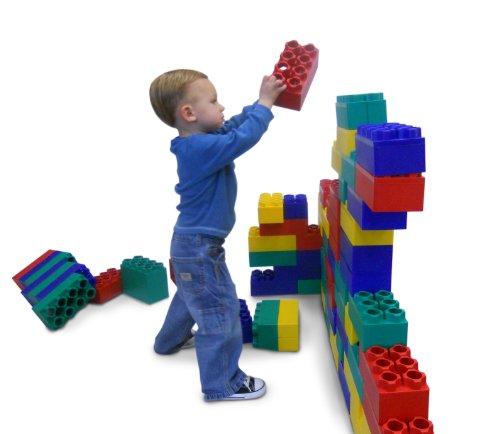 96pc jumbo blocks standard set made in the usa - 96pc Jumbo Blocks - Standard Set (Made in the USA)