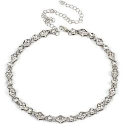 Diamond Rhinestone Clavicle Chain Gorgeous Dress Accessories
