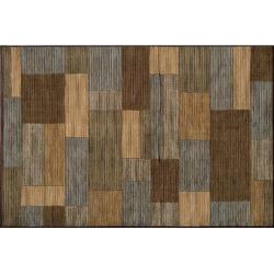 momeni dream bricks rug brown - Momeni Dream Bricks Rug, Brown