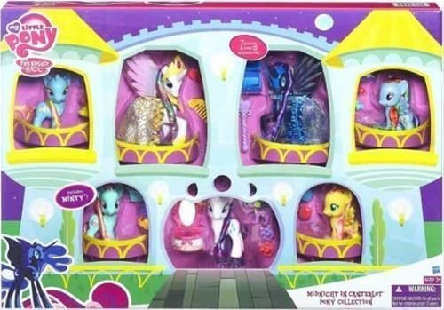 my little pony friendship is magic midnight in canterlot pony exclusive - My Little Pony: Friendship is Magic - Midnight in Canterlot Pony Exclusive Collection