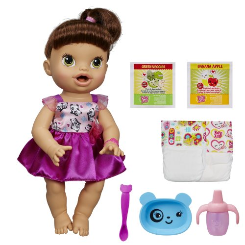 baby alive my baby all gone doll brunette discontinued by manufacturer - Baby Alive My Baby All Gone Doll, Brunette (Discontinued by manufacturer)