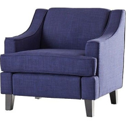 upholstered chair midnight inspire q twilight - Upholstered Chair Midnight - Inspire Q, Twilight