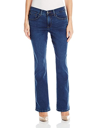 LEE Women's Easy Fit Frenchie Bootcut Jean, Sea Wave, 12 Petite