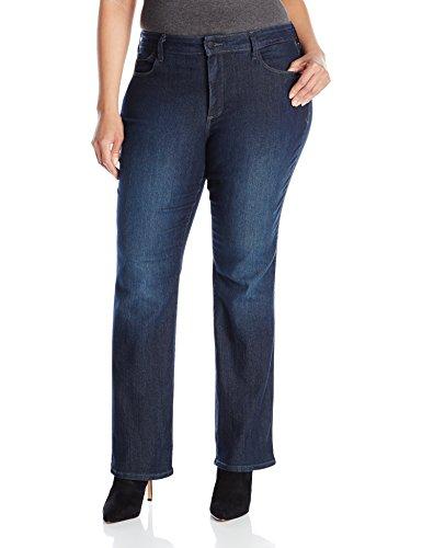 NYDJ Women's Plus Size Billie Mini Bootcut Jeans, Burbank, 24W