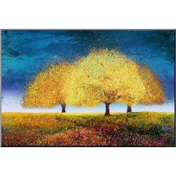 artcom decorative wall panel dreaming trio multi colored - Art.com Decorative Wall Panel Dreaming Trio, Multi-Colored