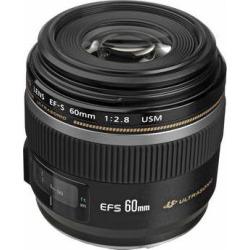 Canon EF-S 60mm f/2.8 Macro USM Lens 0284B002