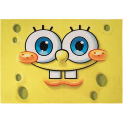 Nickelodeon SpongeBob Rug – 4'6 x 6'6, Multicolor