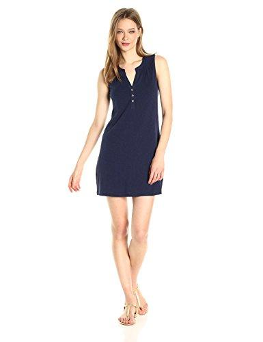 Lilly Pulitzer Women's Essie Dress, True Navy, XL