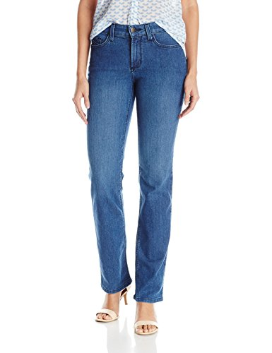 NYDJ Women's Marilyn Straight Leg Jeans, Yucca Valley, 12