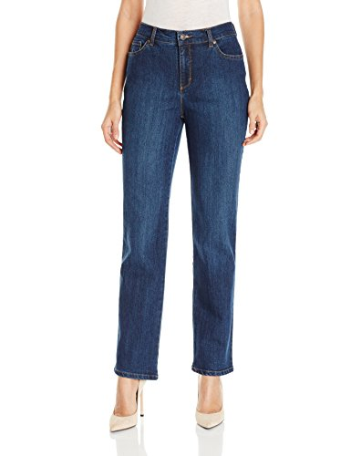 Gloria Vanderbilt Women's Amanda Classic Tapered Jean, Scottsdale Wash, 14