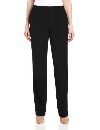 Briggs New York Women's All Around Comfort Pant,Black,14