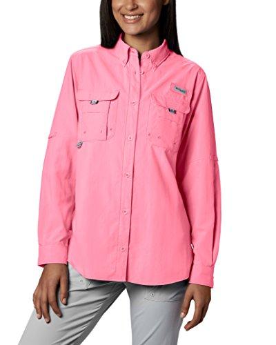Columbia Sportswear Women's Bahama Long Sleeve Top, Lollipop, X-Large