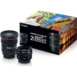 Canon Advanced 2 Lens Kit with 50mm f/1.4 and 17-40mm f/4L 2515A034AA