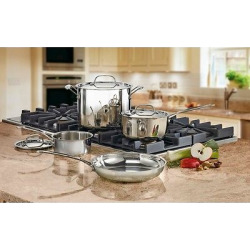 Cuisinart Chef's Classic Stainless Steel Set 7pc Set – 77-7, Silver