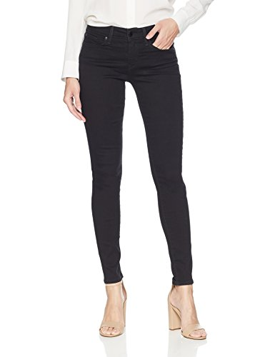 Signature by Levi Strauss & Co. Gold Label Women's Modern Skinny Jeans, Black Opal, 10 Short