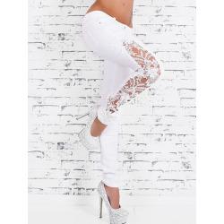 Lace Crochet Skinny Jeans