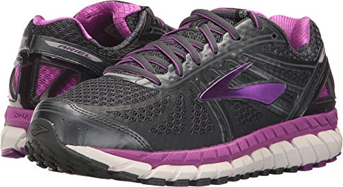 Brooks Women's Ariel '16 Anthracite/Purple Cactus Flower/Primer Grey 7.5 D US