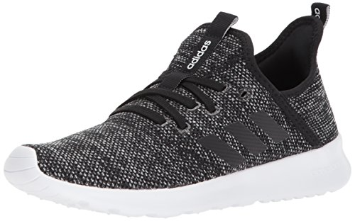 adidas Performance Women's Cloudfoam Pure Running Shoe, Black/Black/White, 8 M US